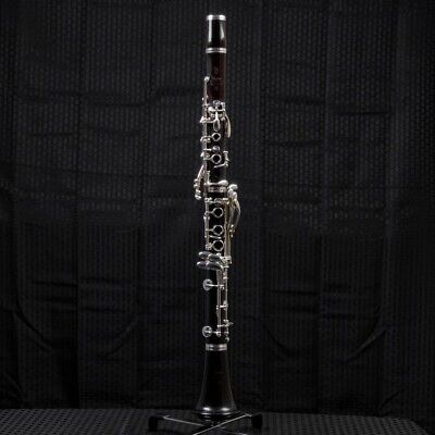 Tempest Bb Clarinet Silver Plated Keys Hard Rubber Body Solid Pitch Strong Build