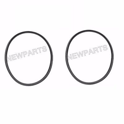 For Porsche 911 964 Headlight Rim to Fender Seal x2 OEM Headlamp Gasket (Porsche Headlight Rim)