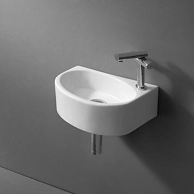 Design Waschtisch kleines Gäste Wc Handwaschbecken Bad Badezimmer Waschbecken