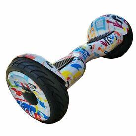 IDEAL FOR ADULT 10 INCH BLUETH Big Wheels Electric Self Balance Board Hot Deal FREE PP £160.00