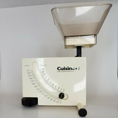 Vintage Cuisnart Precision Food Portion Diet Weight Scale Keto Weight Watchers