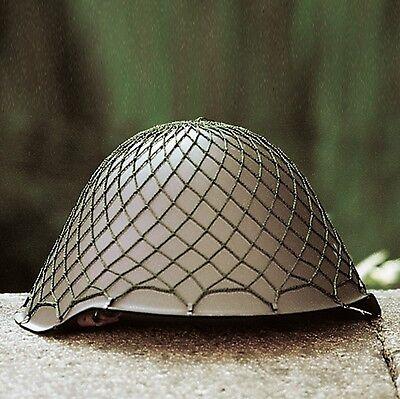 Original NVA Stahlhelm gebraucht DDR Armee Helm Gefechtshelm Gefechtshelm, grau