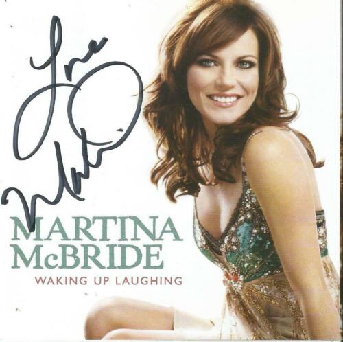 Martina McBride Autographed Waking Up Laughing CD