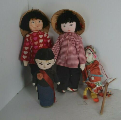 Vintage Asian Oriental Doll  Chinese Lot