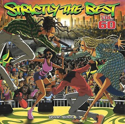 STRICTLY THE BEST VOL 60 - VARIOUS ARTIST 2019 ROOTS REGGAE DANCEHALL NEW