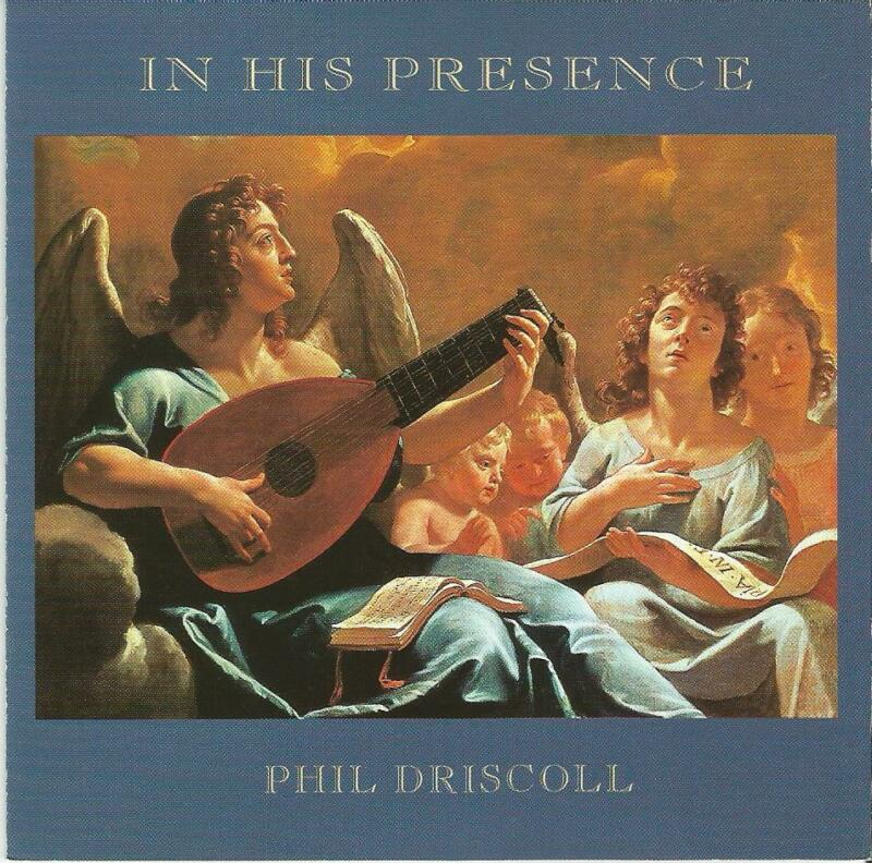 Phil Driscoll In His Presence CD