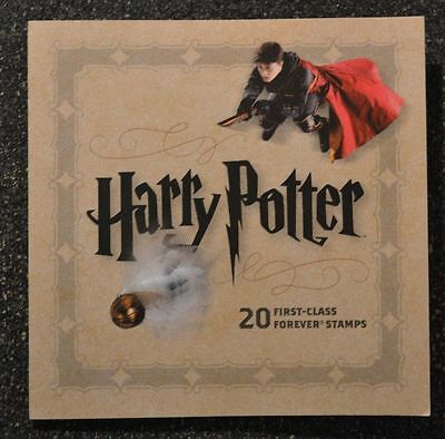 Harry Potter Usps Book Of Forever Stamps Limited Edition Collector Mint Postage