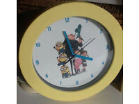 Minions Clock