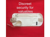 Carlton money belt - discreet security for your valuables. Happy to post.