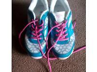 3 pairs - Ladies trainers size 5 - ex condition