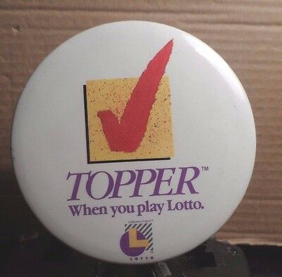 Approx 2  Diameter Button Badge  Ca Lottery  Topper  When You Play Lot    82316