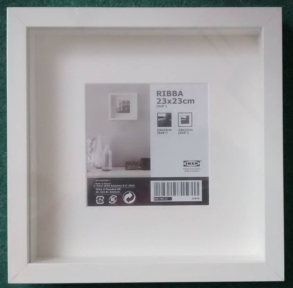3 IKEA Ribba White Box Frames NEW & sealed | in Rise Park ...