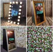 Mirror Photo Booth | DJ Hire | Flower Walls  Sydney City Inner Sydney Preview