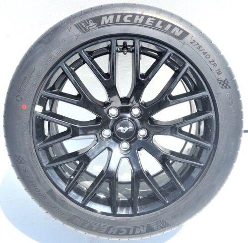 FORD MUSTANG GT 2018 Original RIMS WHEELS TIRES OEM 19x9 19x9.5 Black Set of 4
