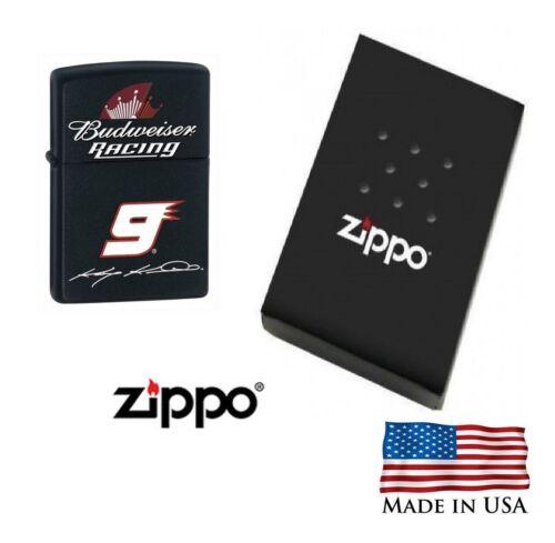Zippo Lighter Budweiser Racing Kasey Kahne 9 Windproof lifetime guarantee