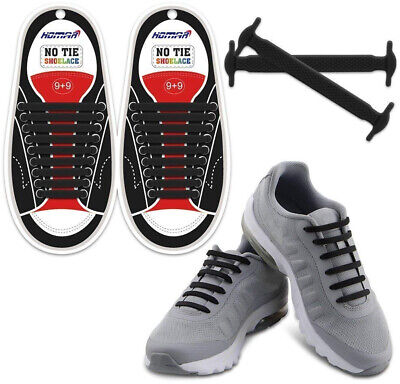 HOMAR No Tie Shoelaces for Kids and Adults - Best in Sports Fan Shoelaces - (Best No Tie Shoelaces)