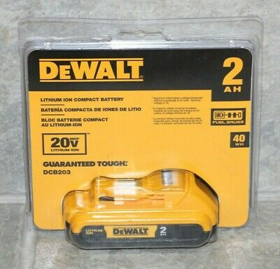 DEWALT DCB203 20V Max Compact Lithium-Ion Battery Pack