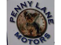MOT MINI SERVICE OFFER £49.95 : 01501740908 PENNY LANE MOTORS