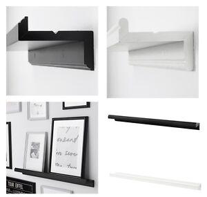 knoppang marietorp picture photo ledge rail shelf picture frame 2 colours 75cm ebay. Black Bedroom Furniture Sets. Home Design Ideas