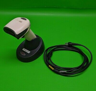 Honeywell Xenon 1902 Cordless Barcode Scanner W Cradle Usb Cable Included