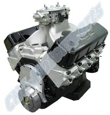 BB CHEVY 555 CRATE ENGINE 770+ HORSEPOWER DART BLOCK BRODIX HEADS HYD ROLLER