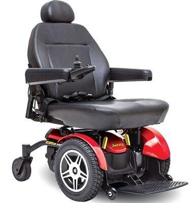 Jazzy Elite HD Power Wheelchair - New