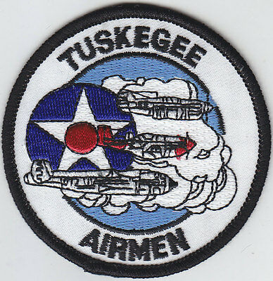 """Tuskegee Airmen 3"""" round patch U.S. Air Force USAF United States"""