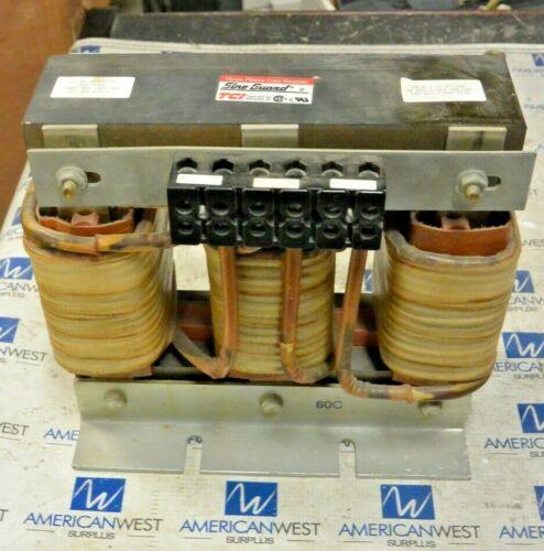 Trans Coil Three Phase Line Reactor KLR80CTB 600V 80 amp  USED