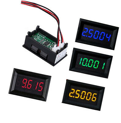 New Led 5 Digit Dc 0-4.3000-33.000v Digital Voltmeter Voltage Meter Car Panel K9