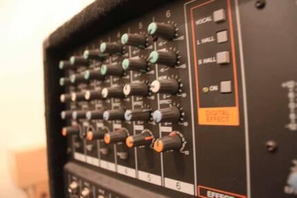 PA System Yamaha EMX620 + 1 Yamaha Passive Speaker Mitcham Whitehorse Area Preview