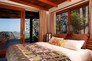 Luxury 1 bed/ensuite villa with balcony spa & ocean views Mullumbimby Byron Area Preview