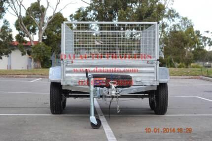 Galvanised Tandem Axle Trailer Box/Cage Type Model KS-TC85 Braeside Kingston Area Preview