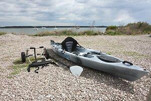 Eco Ambush Fishing Kayak + Extras Oyster Cove Kingborough Area Preview