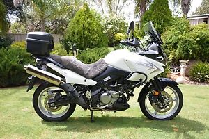 2009 Suzuki V-Strom DL650A - low k's and loaded with extras Lyndoch Barossa Area Preview