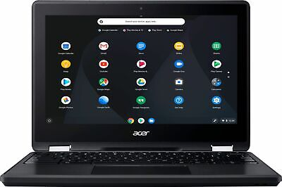 "Acer - Spin 11 2-in-1 11.6"" Touch-Screen Chromebook - Intel Celeron - 4GB Mem..."