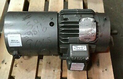 Baldor 1 Hp Inverter Drive Motor 1150 Rpm 230460v Fr 145tc Fla 3.41.7