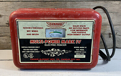Parmak Model Mark Iv 4 Electric Fencer Electric Fence Farm Horse Cattle Sheep