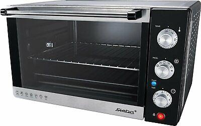 Steba KB 41 Horno Grill Mini Horno Pizzamaker 38L Hasta 230°C 2000...
