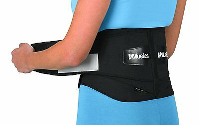 Mueller 255 Adjustable Lumbar Back Brace Support Pain Relief Adjustable