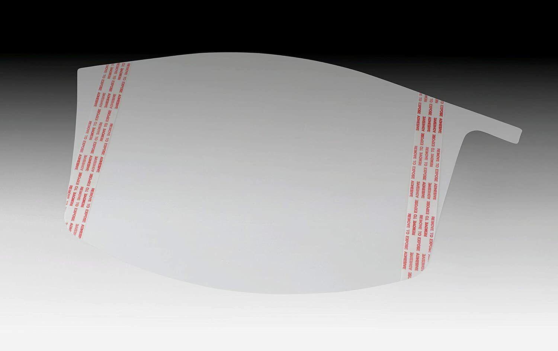 3M Peel-Off Visor Cover For Use With 3m Versaflo M-925 Premium Visor 10 Pack Business & Industrial