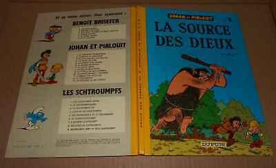 bd Johan et Pirlouit N°6 la source des dieux dupuis peyo Ré 1976