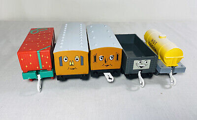 TOMY Thomas & Friends HOLIDAY Set Replacement Train Lot Clarabel Hot Cocoa Etc