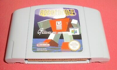 Nintendo 64 Robotron 64 [PAL] N64 Super *JRF*