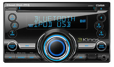 Buy Clarion Car Audio - Clarion Cx501 Car Radio Cd/bluetooth/usb Receiver