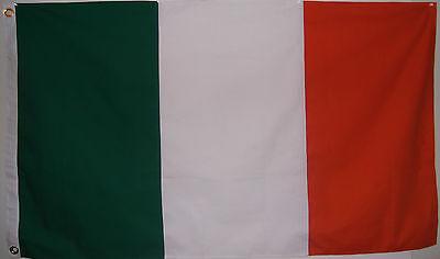 HEAVY COTTON 3'X5' IRELAND NATIONAL FLAG - IRISH - ORANGE GREEN WHITE