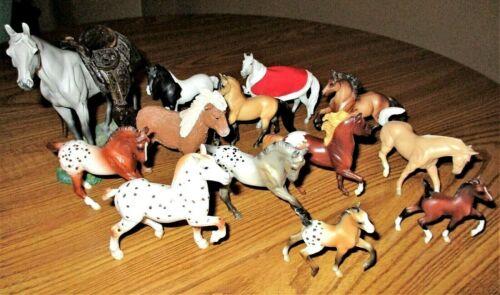 "Breyer Reeves/Terra by Battat; MEGA 13 Horse Collection, 2"" - 6"", EUC, Lot A"