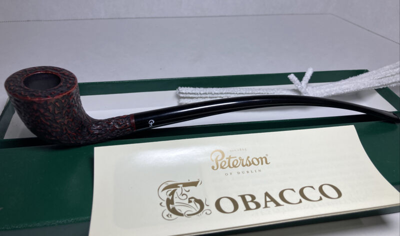 Peterson churchwarden D6 Rustic Fishtail New With Box