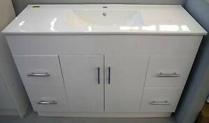New White Sunny Eliza Series 1200w Bathroom Vanity Special Melbourne CBD Melbourne City Preview