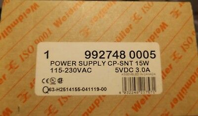 Weidmuller Power Supply 992748 0005 New In Box