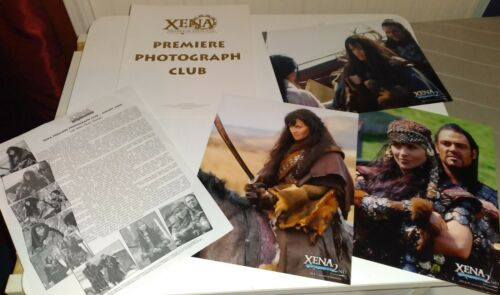 """Xena Premiere Photo Club August 2006 """"Off With Their Heads!"""" Picture Set of 8"""